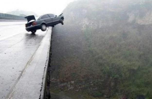 О бесконечном везении во время аварии...