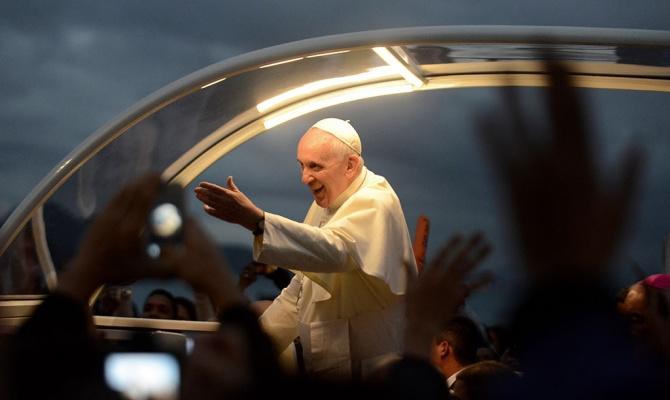 Папа Римский назвал врагов мира