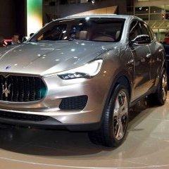 В Maserati назвали российскую цену своего первого кроссовера Levante