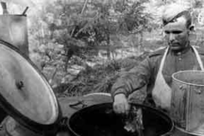Как питались советские солдаты