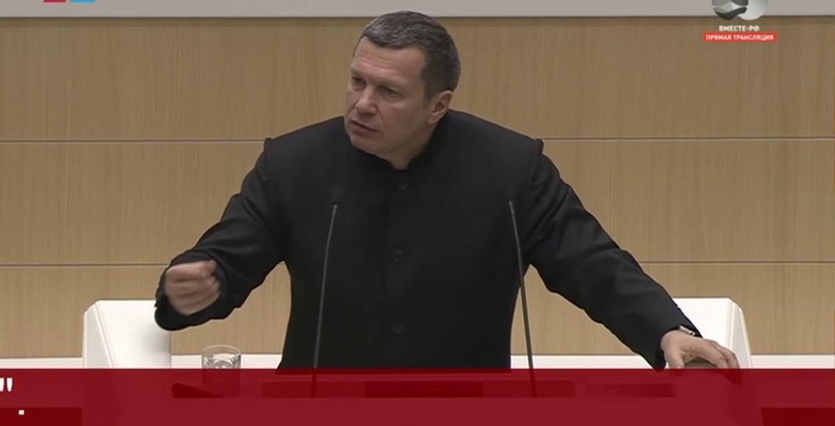 Выступление В. Соловьева в СОВФЕДЕ, 28.03.18