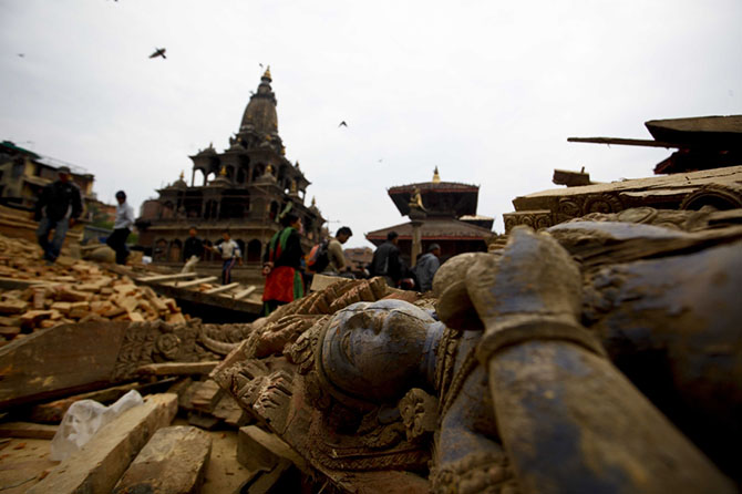 Страшное землетрясение в Непале