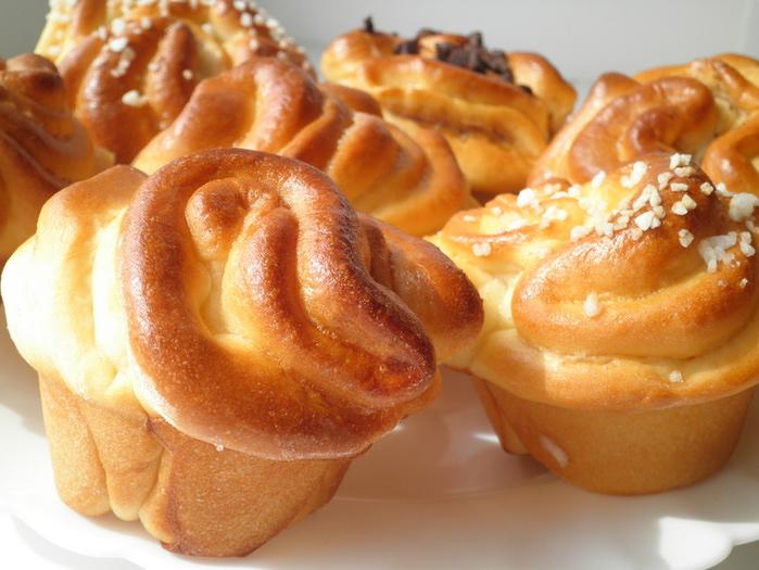 Вкуснейшие булочки с начинкой