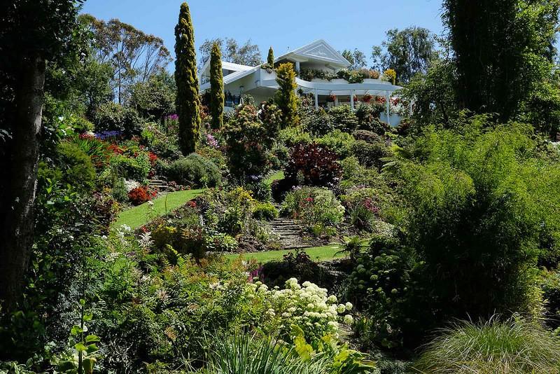 mapleglen08 Восхитительный сад Maple Glen в Новой Зеландии