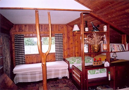 Интерьер дачного домика своими руками фото