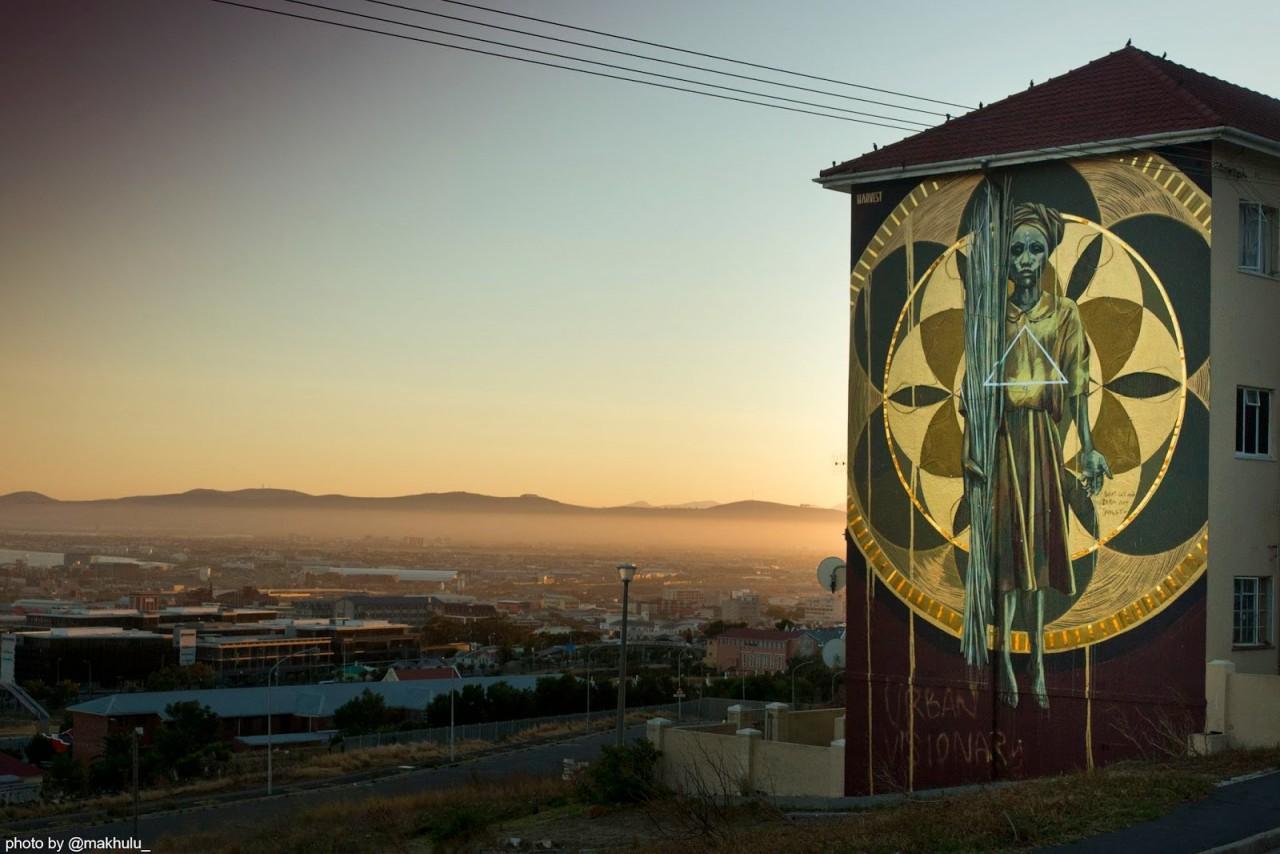 11. Кейптаун, ЮАР граффити, стрит-арт, художники