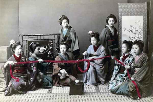 Самые главные боги в Японии—это боги любви : о женщинах из прошлого века