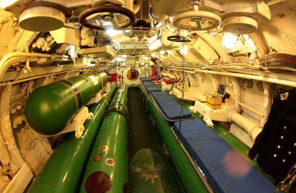 разбор подводной лодки
