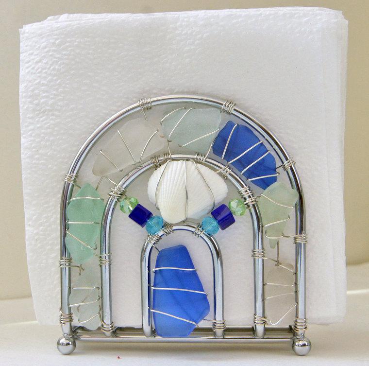 Копилка идей использования морских стеклышек