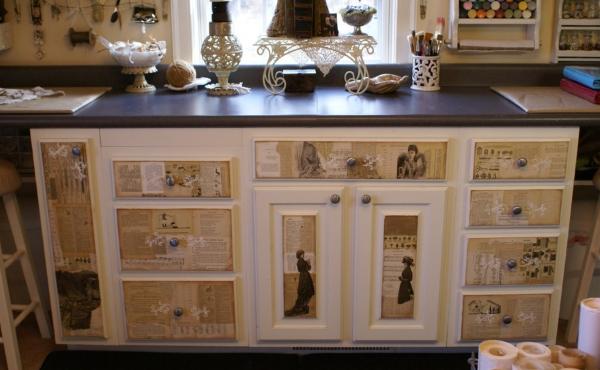 Декор кухонной мебели своими руками: инструкция от мастеров 19