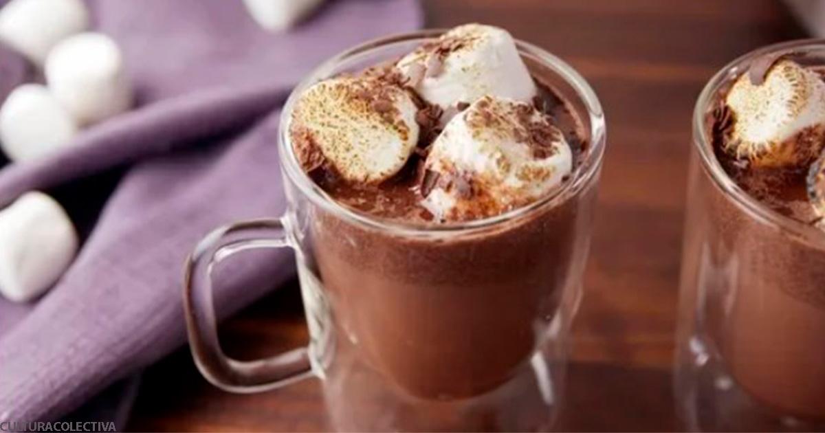 Горячий шоколадный глинтвейн - горячий тренд  этой зимы