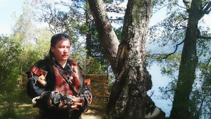 Алтайский шаман Артем Игнате…