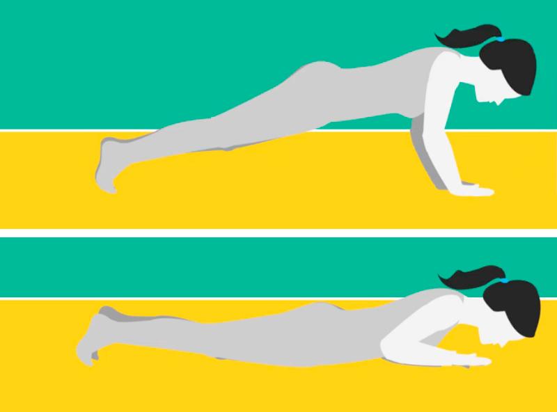 5 простых упражнений от жировых отложений на боках