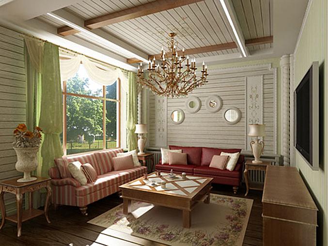 Интерьеры дома в стиле прованс фото