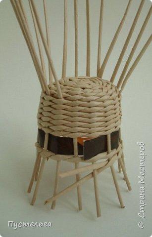 Кукольная жизнь Плетение Кресло Трубочки бумажные фото 7