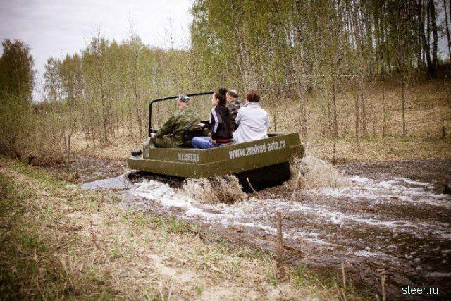 самодельный гусеничный вездеход для охоты и рыбалки