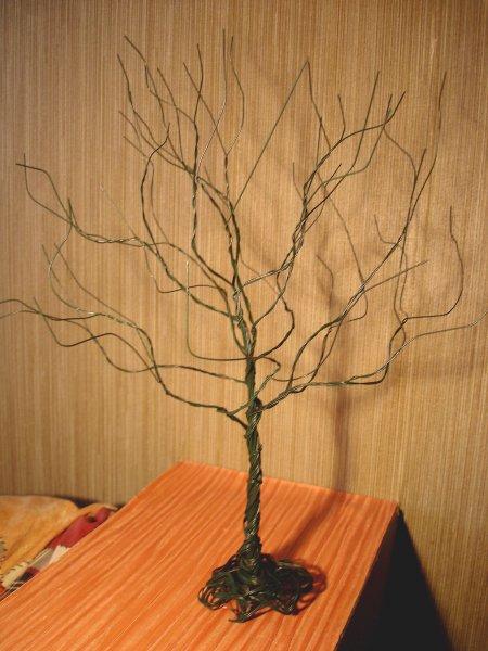 Как сделать своими руками маленькое дерево