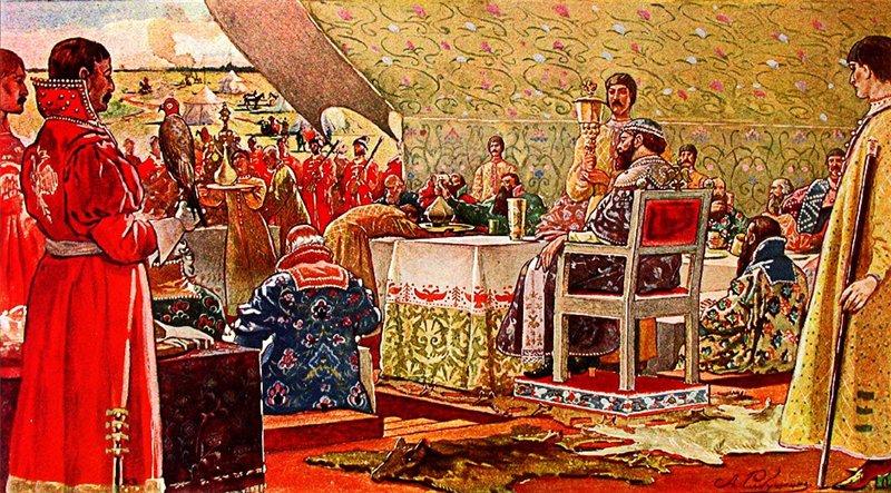 Что и как едали русские цари