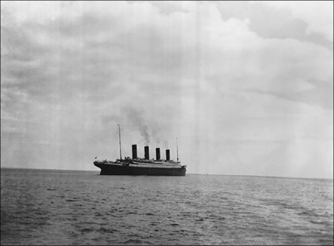 Последнее фото Титаника над водой, 1912 Историческая фотография, история, факты