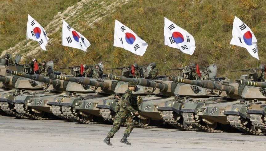 8. Южная Корея Третья мировая, военные силы, прогнозы