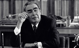 Генеральный секретарь ЦК КПСС Леонид Брежнев
