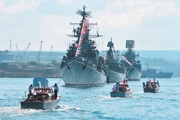 Владимир Путин не пустил американцев в Севастополь