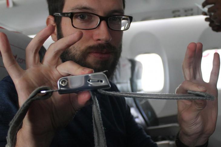 Никогда не пристёгивайтесь в самолёте!