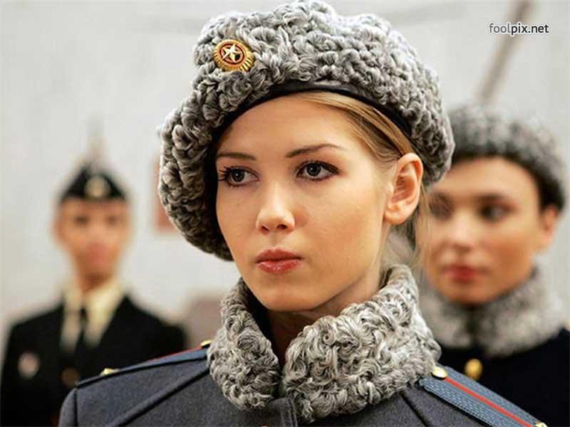 Девушки на службе в армии фото 48