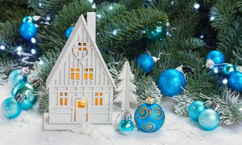 Украшение новогоднего стола 2016