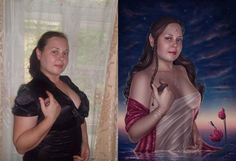 Мастера фотошопа, которые творят чудеса