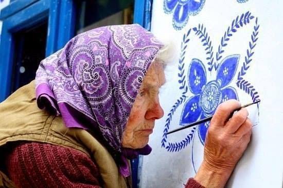 Добрая роспись бабушки Анны …