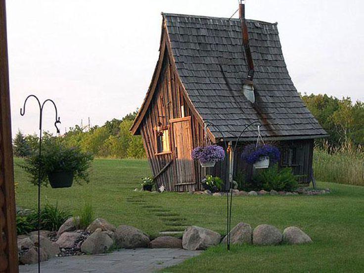 6. Причудливый деревенский домик в Миннесоте, США. в мире, дом