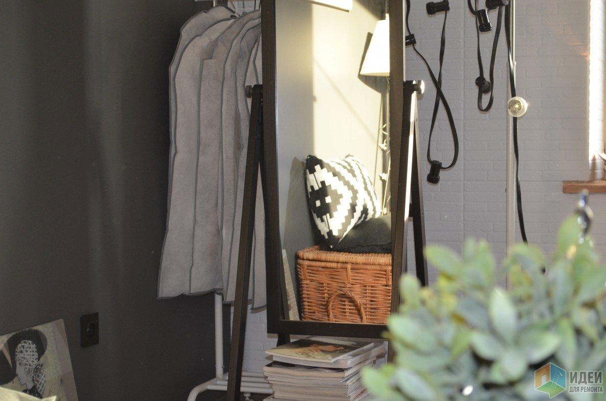 Интерьер гостиной-спальни фото