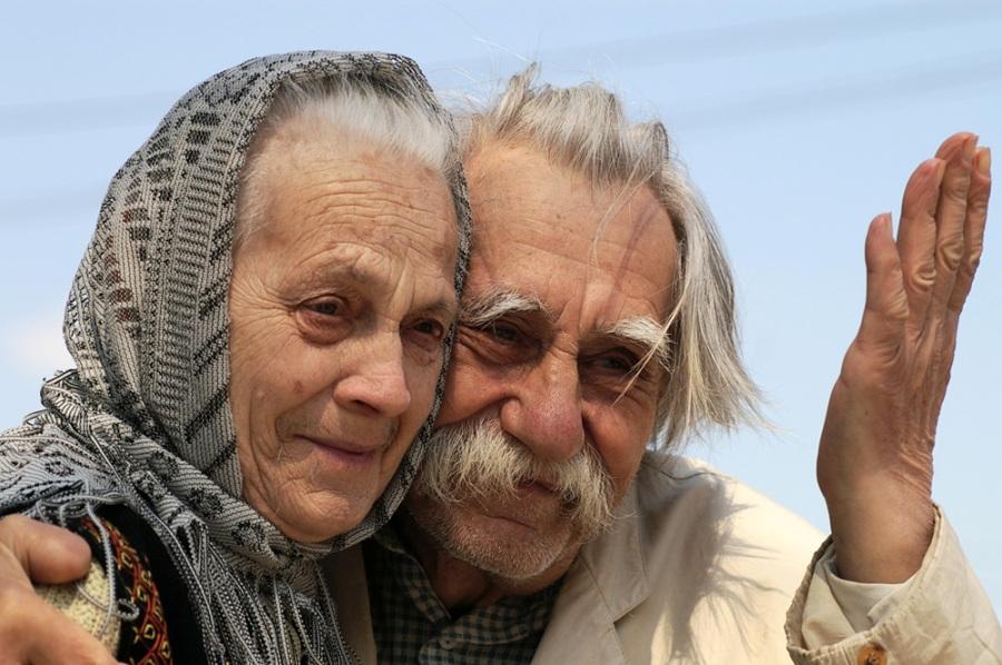 Чтобы мама и папа в пожилом …