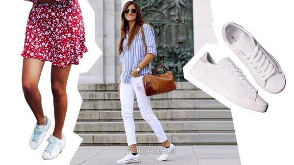 14 ультра-стильных идей, с чем носить белые кроссовки