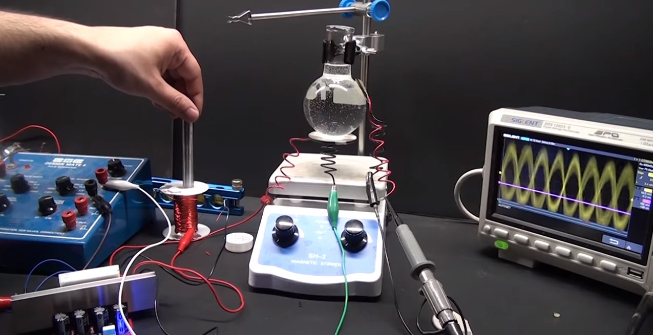 Как заставить воду излучать свет: сонолюминесценция