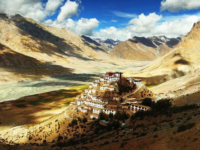 Буддийский монастырь Ки Гомпа с тысячелетней историей