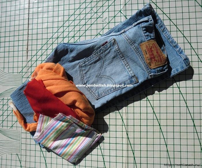 Прихватки своими руками из джинс с выкройками 728