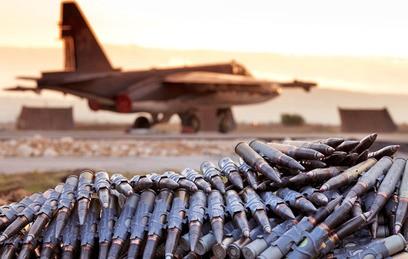 Чичерина спела для российских военных в Сирии