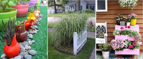 Предельно простой и выразительный садовый декор для тех, кто устал от рутины.