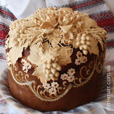 Ukranian Wedding Bread: