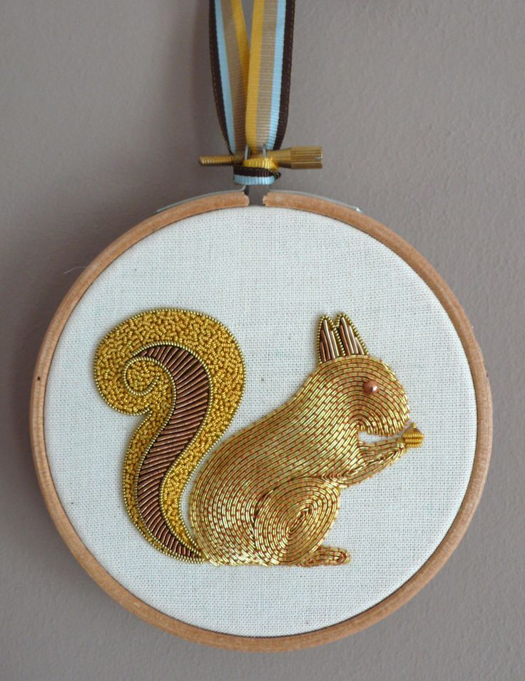 Courses RSN - Metal thread embroidery! i wish I could just get the instructions!!: