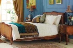 деревянные спальни фото 12