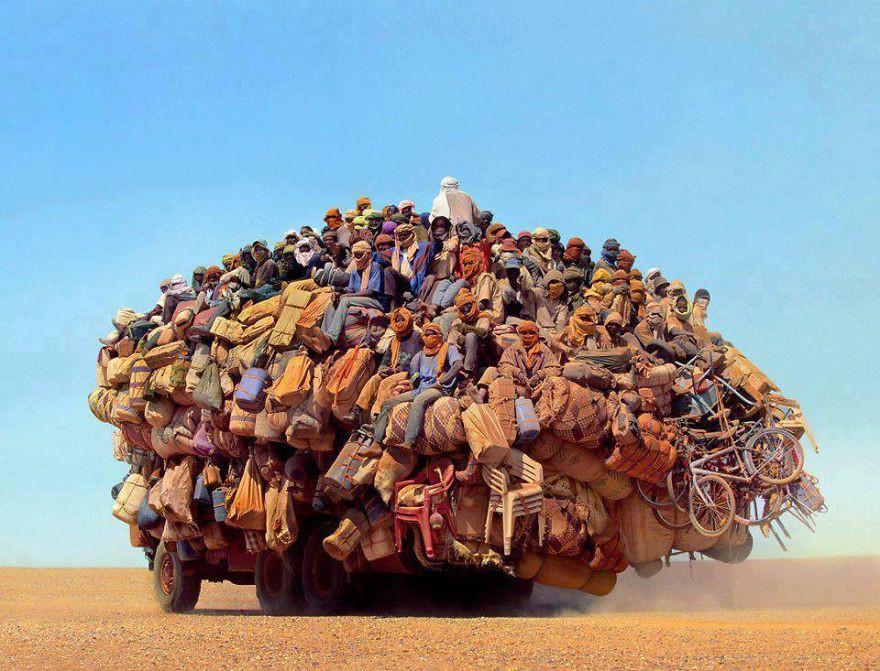 30 самых перегруженных транспортных средств
