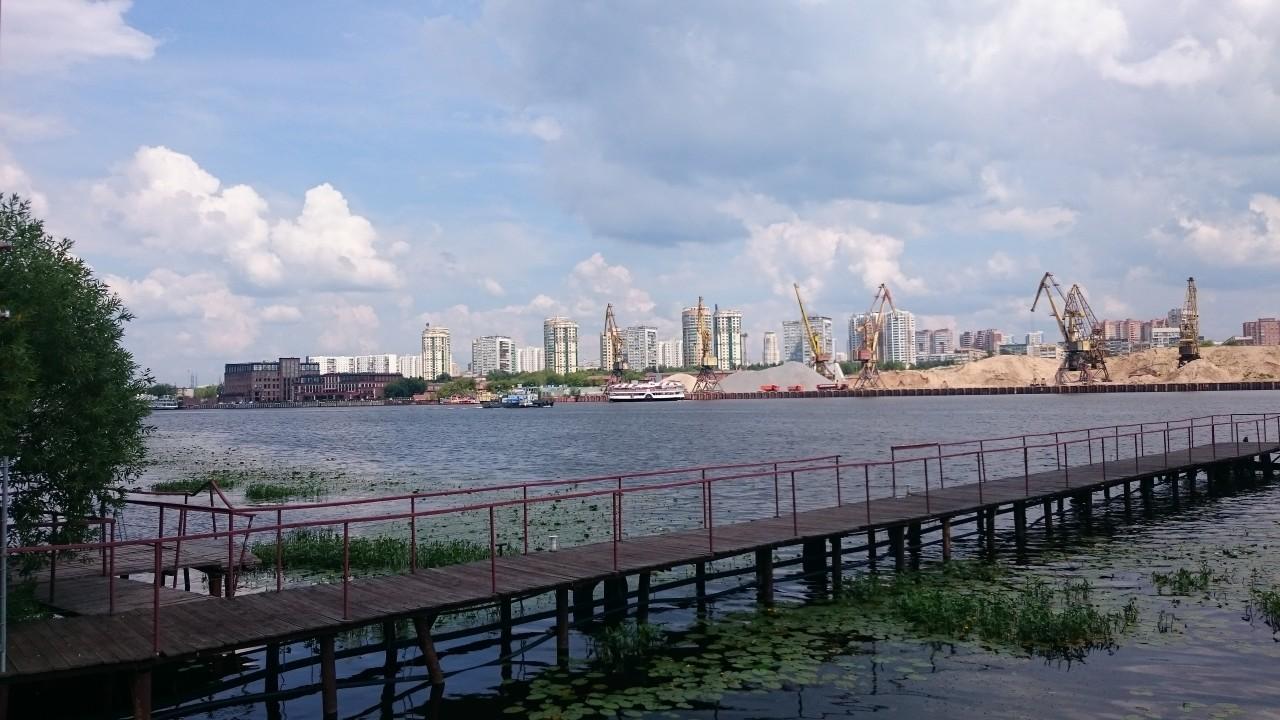 Москва. Парк Северное Тушино.