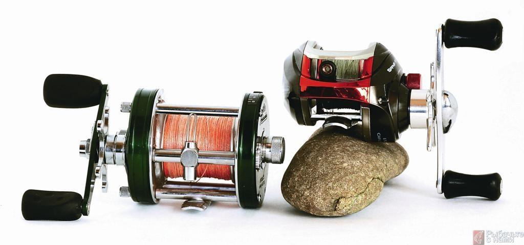 рыболовные катушки с мультипликатором