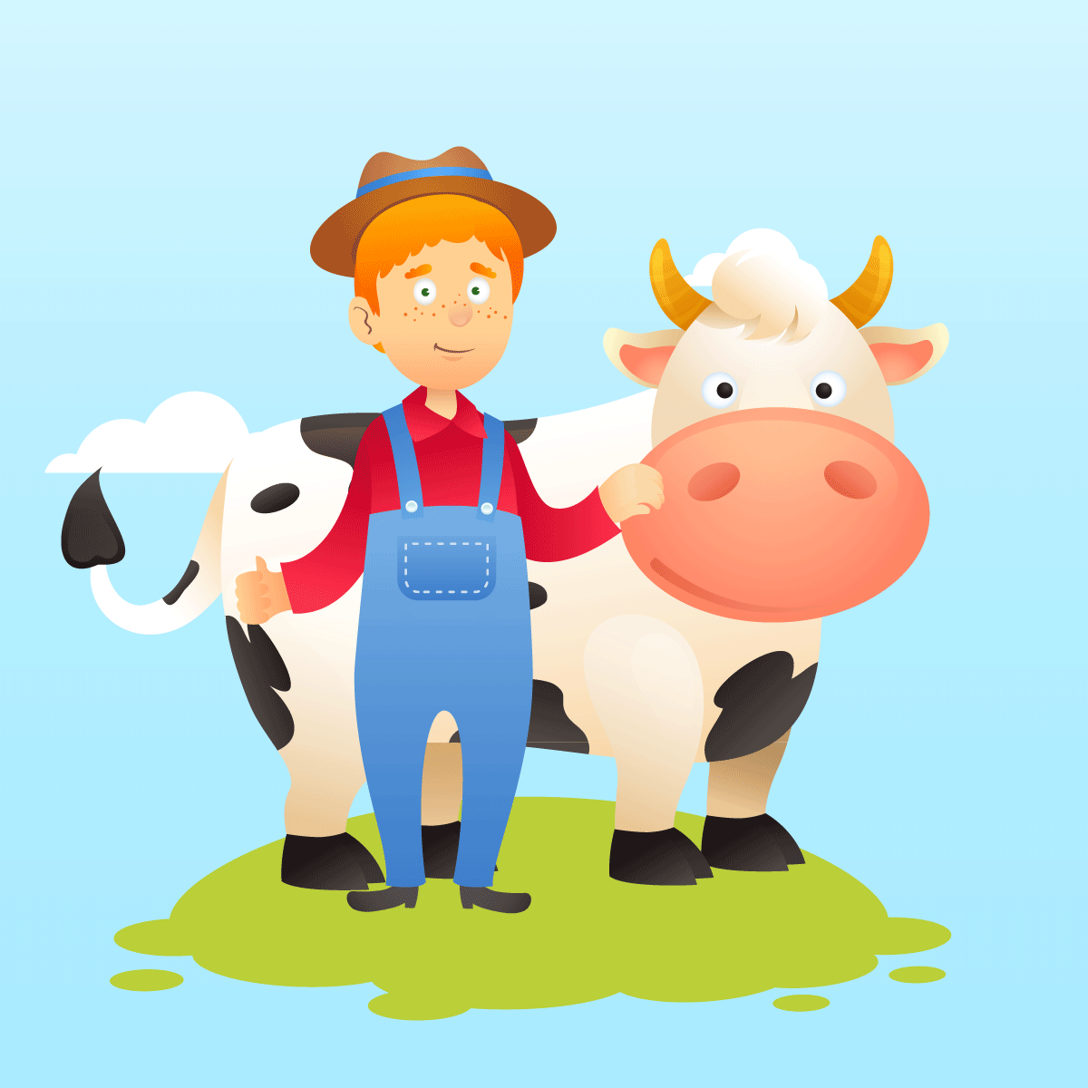 Анекдот о мужике с коровой, который ловил попутку
