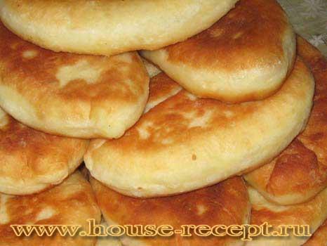 Пирожки тонкие жаренные