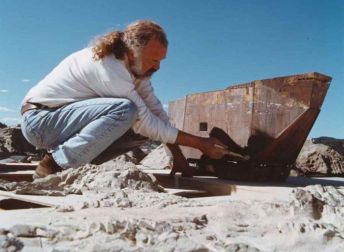 Как создавалась легенда. 10 редких фотографий со съемок «Звездных войн»