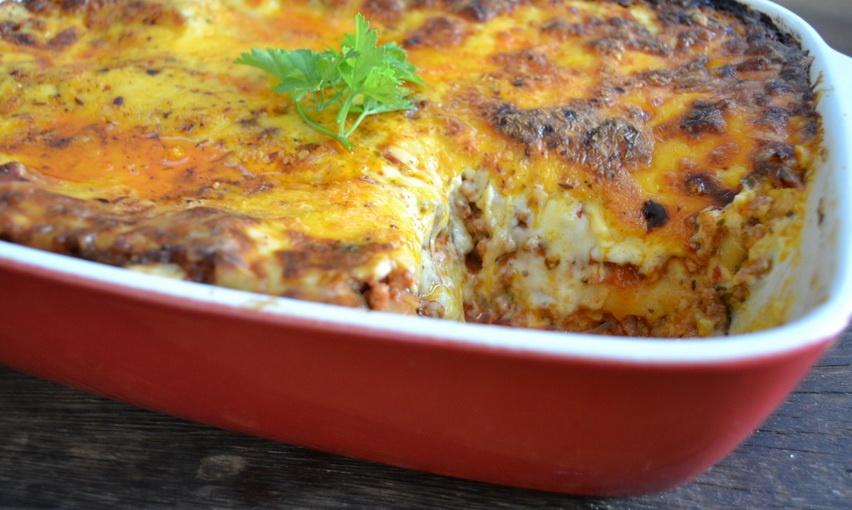 Вкусное блюдо из кабачков в духовке с фаршем